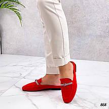 Красные мюли 868 (ТМ), фото 2