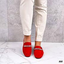 Красные мюли 868 (ТМ), фото 3
