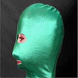 РАСПРОДАЖА! Зеленая/синяя маска из винила, фото 2