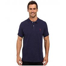 РАСПРОДАЖА! Поло U.S. POLO ASSN. Short Sleeve Fleck Pique Polo Shirt
