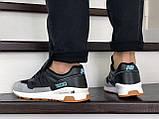 Кроссовки мужские New Balance модель M1500 черно серые, фото 4