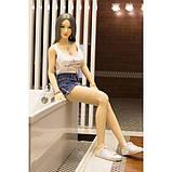 Супер-реалістична секс-лялька YunYan 165 см, фото 2