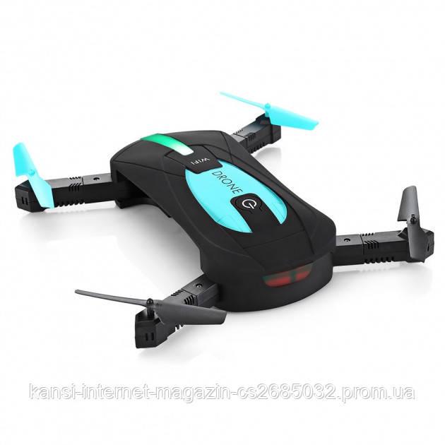 Квадрокоптер селфи-дрон JY018 Mini