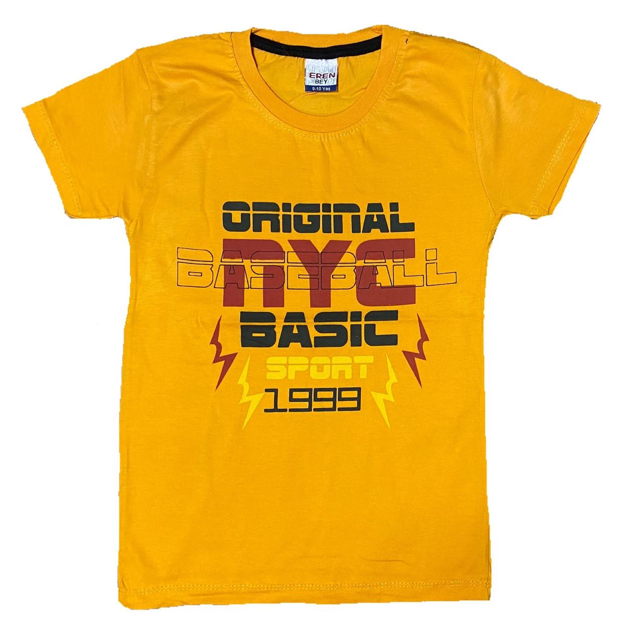Детская футболка для мальчика, 134см
