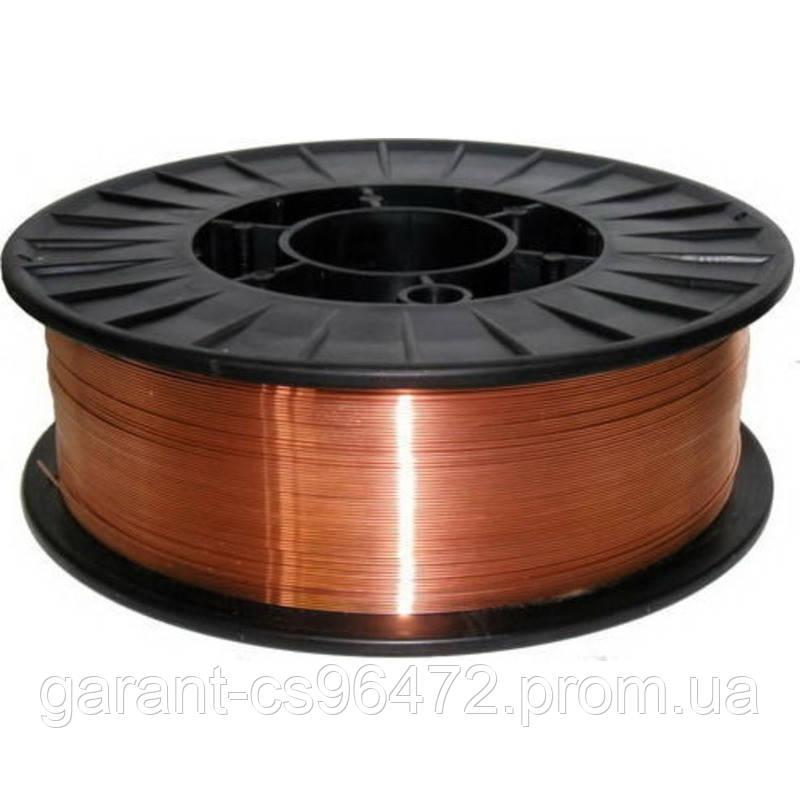 Зварювальний дріт Св08Г2С обміднений (0,6 мм 5кг)