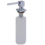 Дозатор для рідкого мила 500 ml. AquaSanita DQ-001 хром, фото 3