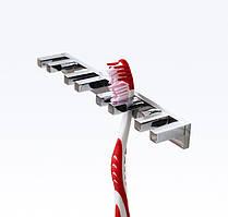 Держатель зубных щеток серия Viya хром, В 019