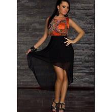 РОЗПРОДАЖ! Легке романтичне плаття Orange