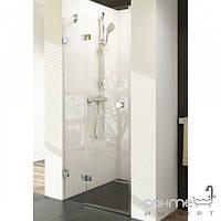 Душевые кабины, двери и шторки для ванн Ravak Душевая дверь в нишу Ravak Brilliant BSD2-L-100 профиль хром, стекло прозрачное, левосторонняя
