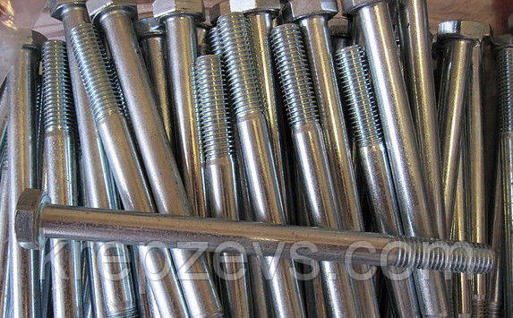 Болт М24 класс прочности 8.8, ГОСТ 7805-70, ГОСТ 7798-70, DIN 931, DIN 933    Фотографии принадлежат предприятию ЗЕВС®