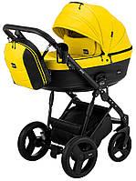 Детская коляска 2 в 1 Bair Play BP-63/69 желтый-черный, фото 1