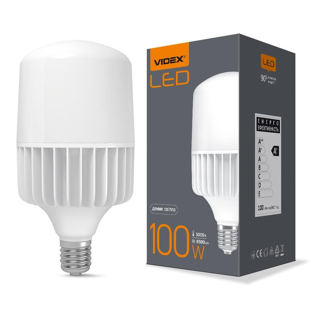 Світлодіодний лампа VIDEX A145 100W E40 5000K