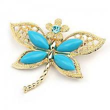 РОЗПРОДАЖ! Брошка - Метелик з квіточкою