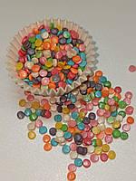 Посыпка кондитерская конфетти перламутр