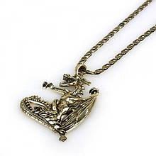 РАСПРОДАЖА! Металлическое ожерелье с драконом
