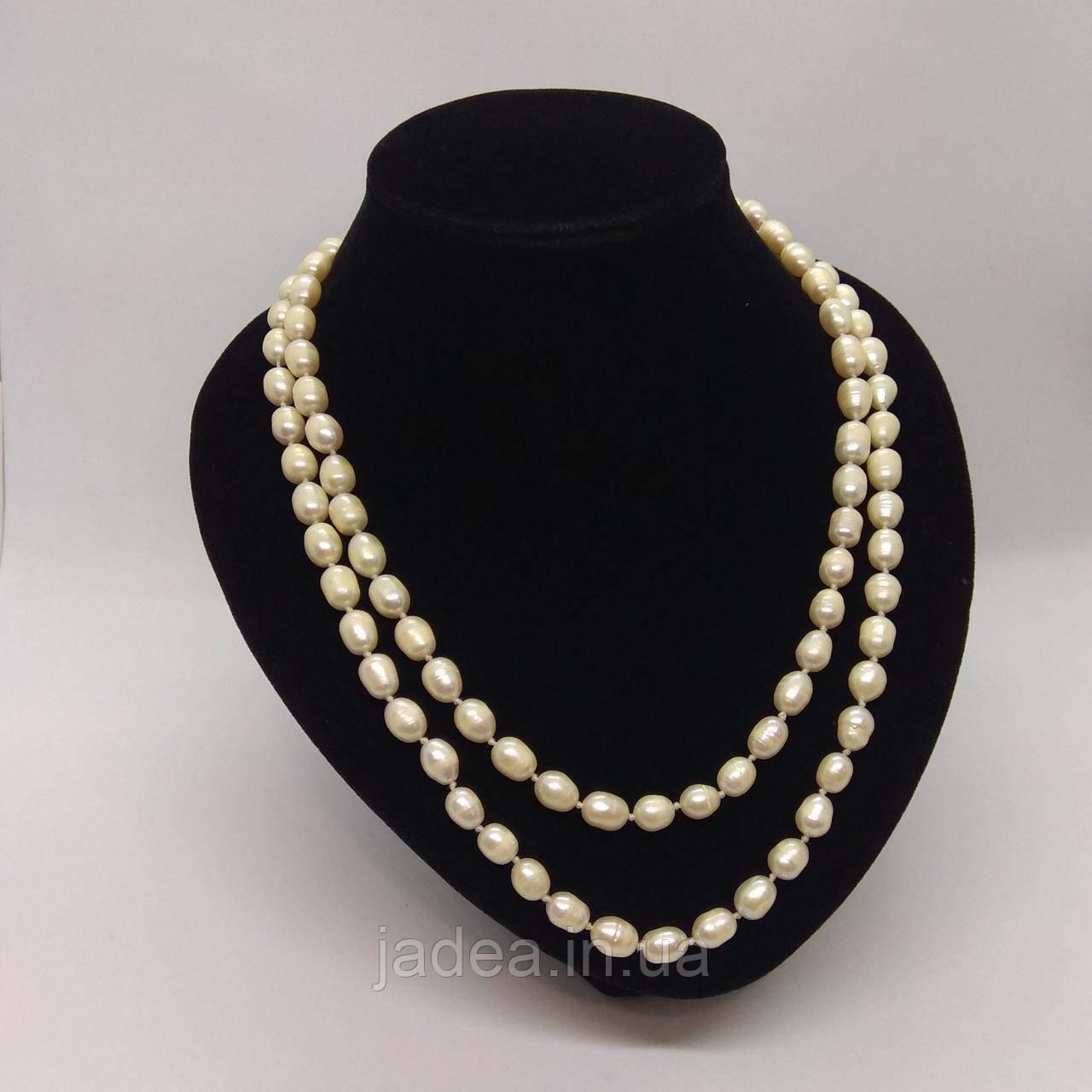 Намисто з якісних перлів L=120см