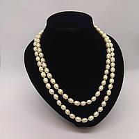 Перлове намисто з річкових перлів