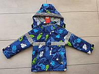 Весняна курточка на хлопчика 104-128 зі світловідбивачем