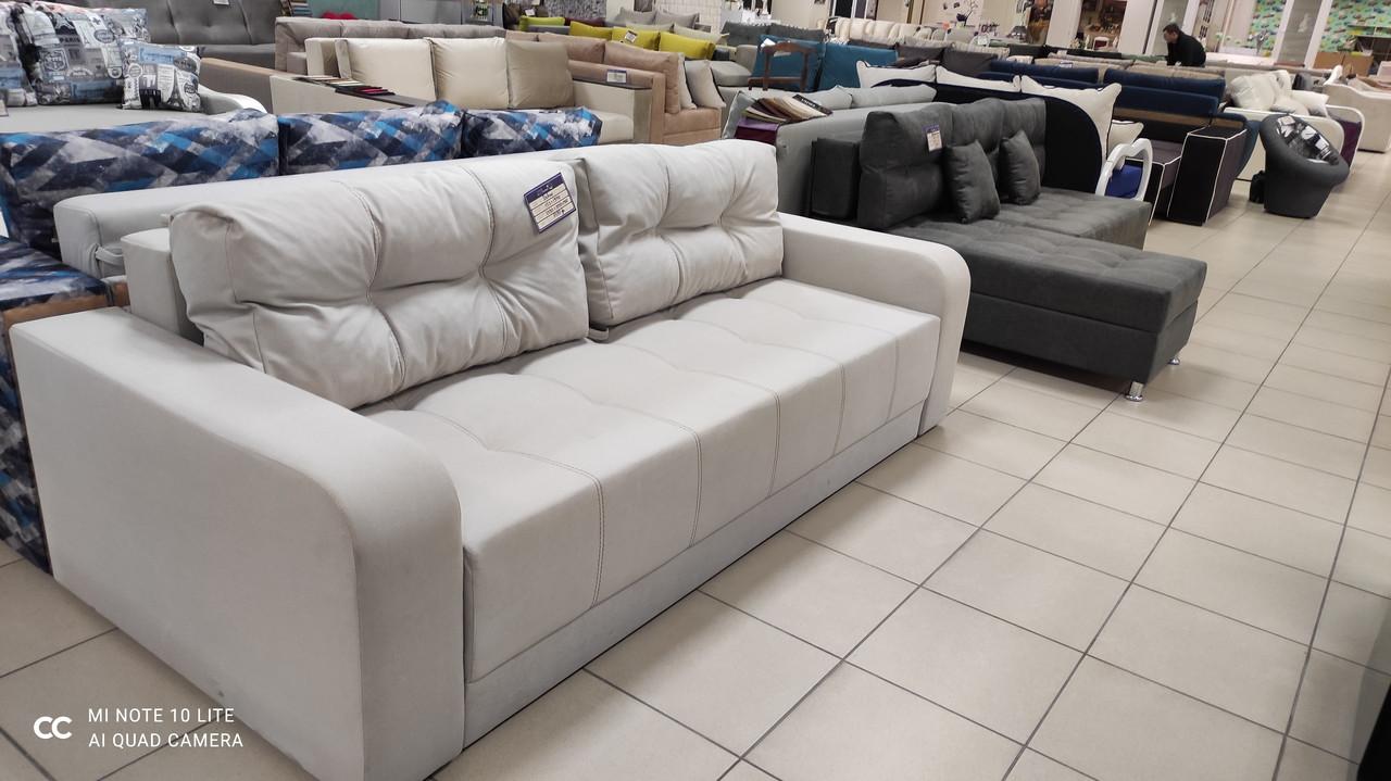 Красивий і дуже зручний недорогий диван для щоденного сну з білизняним коробом
