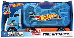 Hot Wheels Вантажівка з інструментами світло, звук