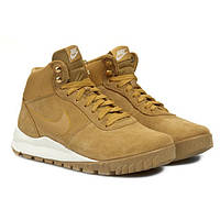 Ботинки женские Nike Hoodland Suede Walking жёлтые, фото 1