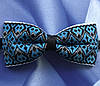 Бабочка галстук с орнаментом в украинском стиле на выпускной вечер