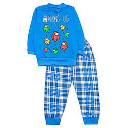 Пижама для мальчика тонкая Among us