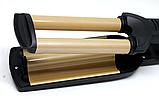 Тройная плойка для волос Root DT-2021, фото 3
