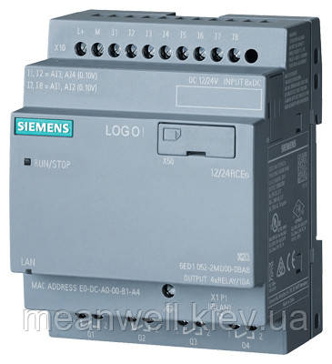 6ED1052-2MD00-0BA8 LOGO!12/24RCEO Логический модуль Siemens LOGO!8