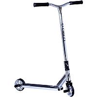 Maraton Chilli трюковий двоколісний самокат з пегами та посиленою рамою (срібло)