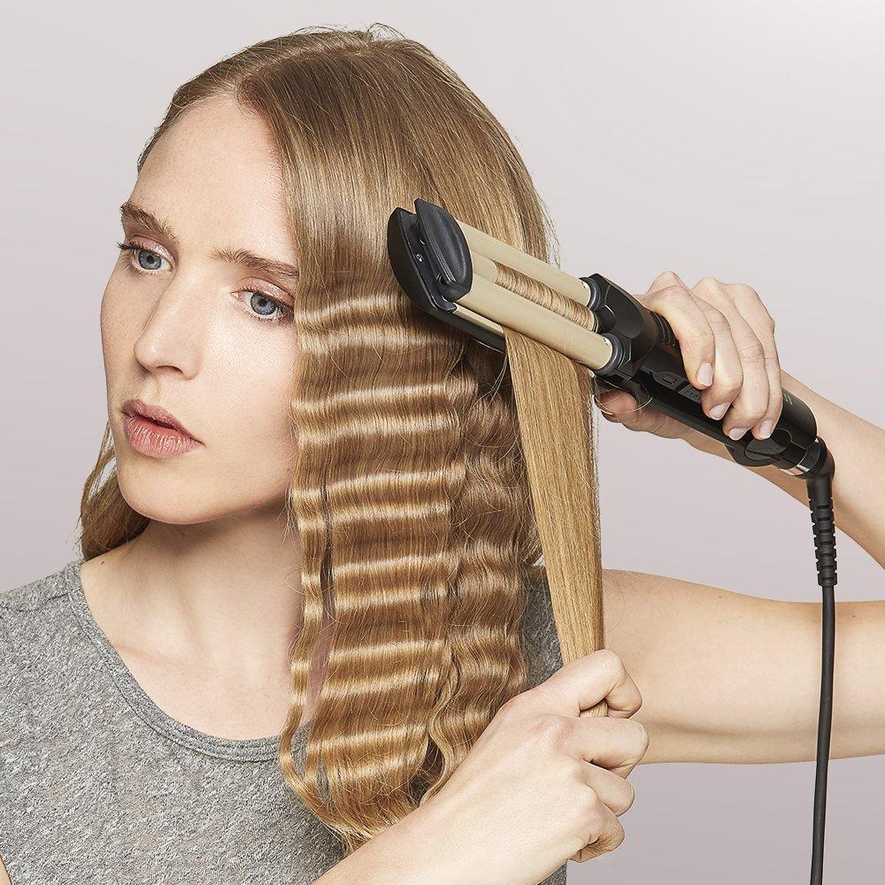 Тройная плойка для волос Root DT-2021