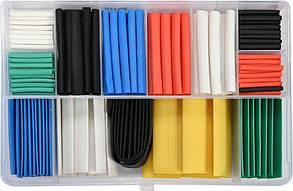 Кембрики термоусадочні до 125 ° C YATO різних розмірів 171 шт.