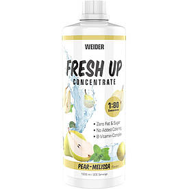 Изотоники Weider Fresh Up Concentrate 1:80, 1 литр Груша-мелисса
