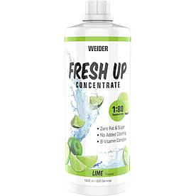 Изотоники Weider Fresh Up Concentrate 1:80, 1 литр Лайм