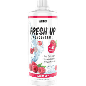 Изотоники Weider Fresh Up Concentrate 1:80, 1 литр Малина