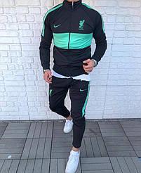 Мужской спортивный костюм Nike L.F.C  Black/Green