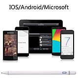 Універсальний Стилус для ємкісного екрану планшетів і телефонів, 10 годин автономності, фото 5