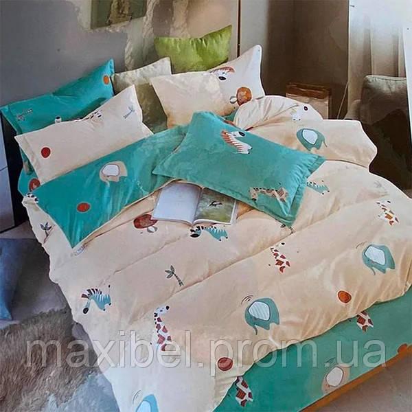 Koloco / Детское постельное белье полуторный комплект | Постельное белье фланель