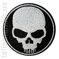 Термо-нашивка - NATM-12 - ЧЕРЕП круг