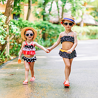 Дитячі купальники для дівчаток