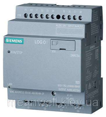 6ED1052-2HB00-0BA8 LOGO!24RCEO Логический модуль Siemens LOGO!8