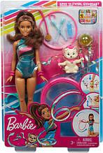 Уценка! Кукла Барби Тереза художественная гимнастка - Barbie Dreamhouse Teresa Spin 'n Twirl Gymnast Doll