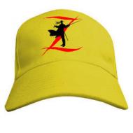 Летняя молодёжная кепка унисекс Zorro (зорро)