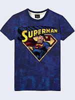 Футболка 3D чоловіча 03 Супермен, фото 1
