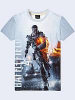 Футболка 3D Battlefield 4, фото 1