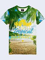 Футболка 3D Tropical Paradis