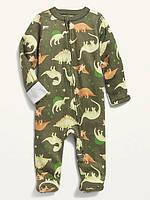 Трикотажний комбінезончик із закритими ніжками Динозаврики Олд Неві для хлопчика