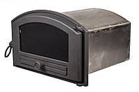 Печная духовка из чугунной дверкой ― VVK 50х30х40см/44х25х40см