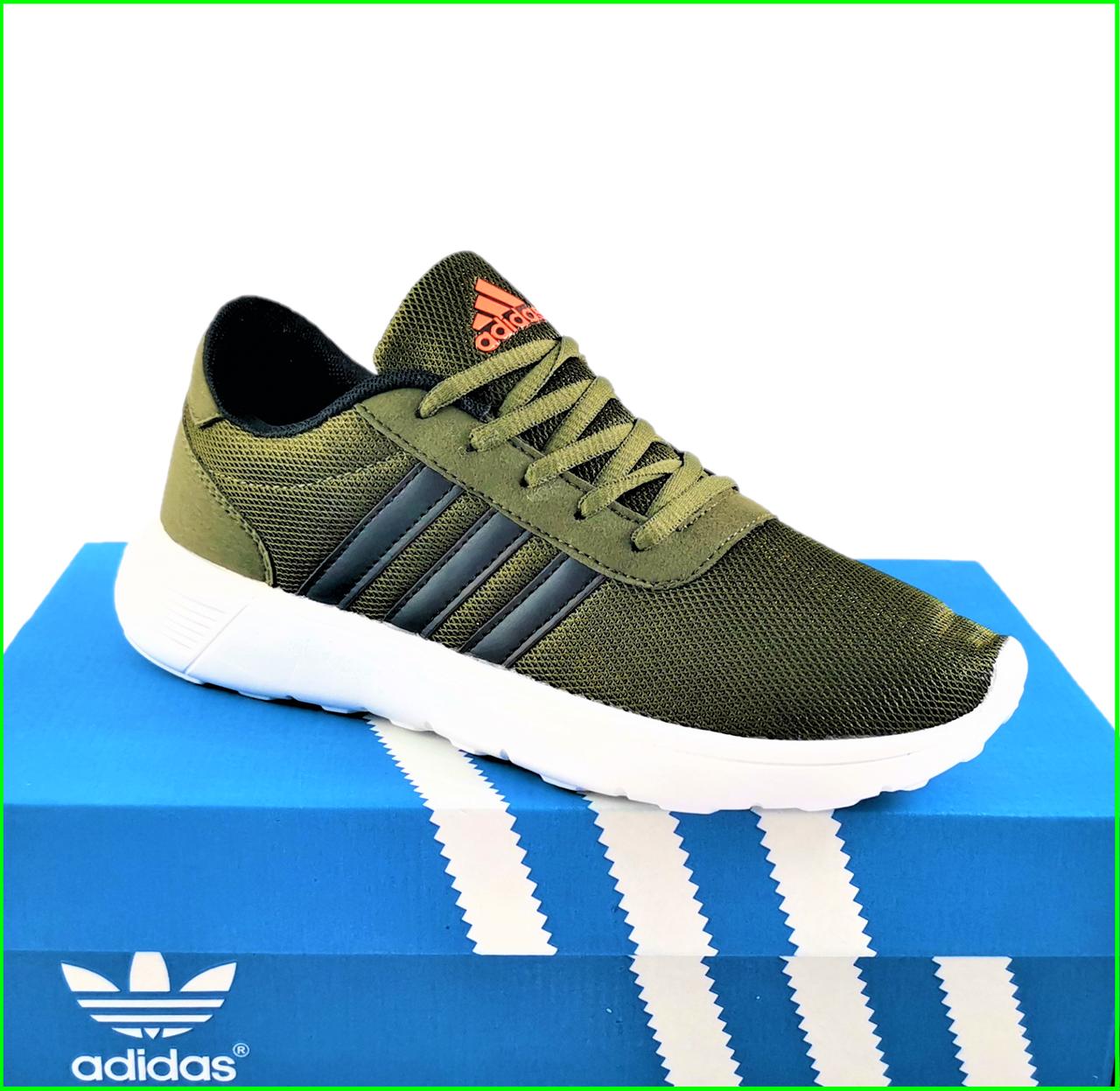 Кроссовки Adidas Мужские Зеленые Хаки Адидас BOOST (размеры: 41,42,43,44)