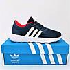 Кросівки Adidas Чоловічі Сині Адідас BOOST (розміри: 41,42,43,44,45) Відео Огляд, фото 3